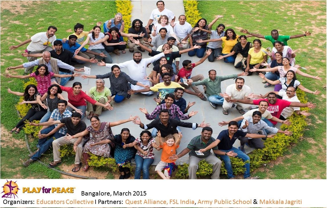 One Word About the Play for Peace Workshop in Bangalore