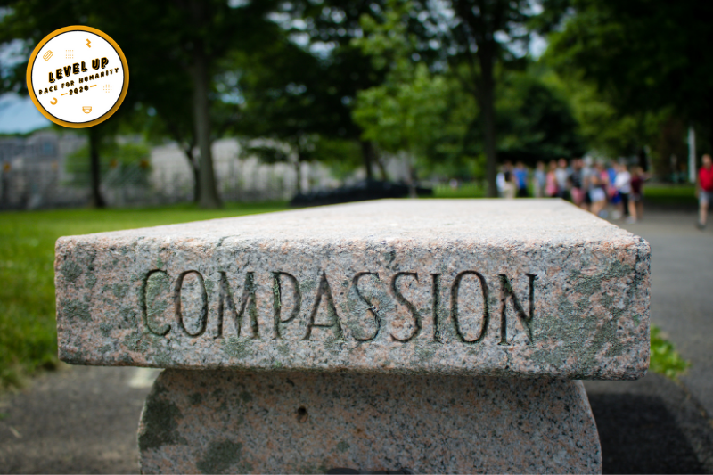 A Runner's Take On Leveling Up During Compassion Week